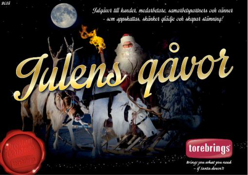 Årets upplaga Julens Gåvor 2015 är klar