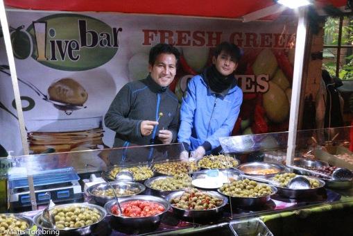 Riktigt goda oliver med mera