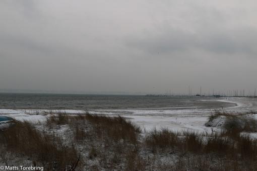 Det blåser iskalla vindar från havet